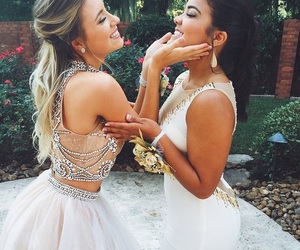 friends, dress, and best friends image
