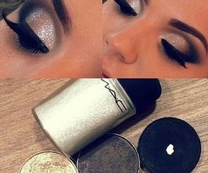eyeshadow, glam, and mac image