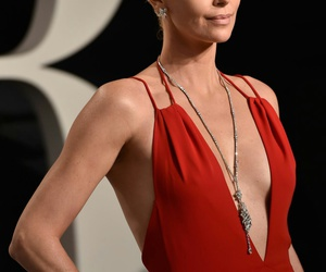 Charlize Theron, glamour, and hair image