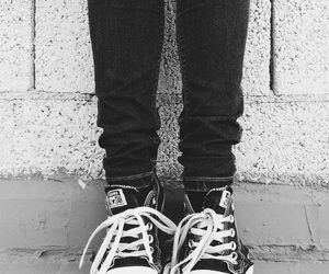 black, black and white, and convers image