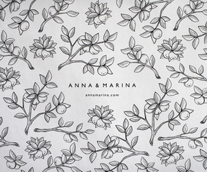 anna, berries, and black and white image