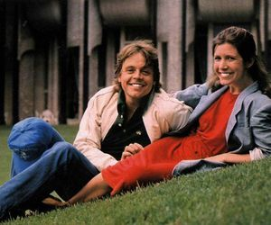 carrie fisher and mark hamill image