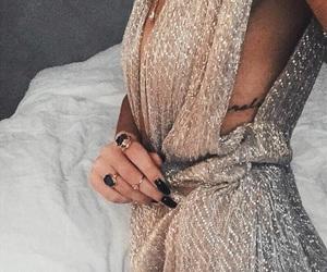 fashion, dress, and nails image