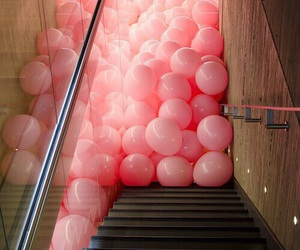 funny, pink balloons, and funy image