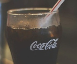 coca cola, drink, and coca-cola image