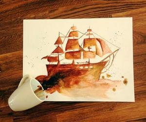 amazing, art, and boat image