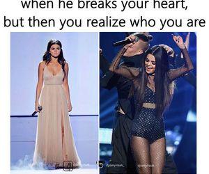 funny, heart, and selena gomez image