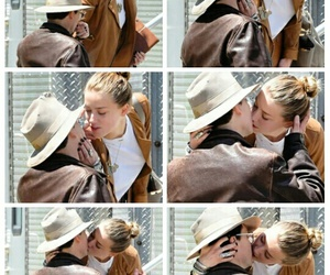 amber heard, couple, and johnny depp image