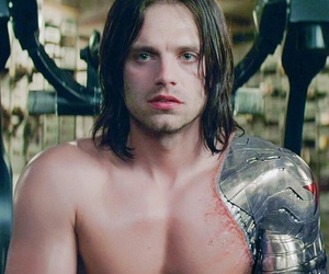 Marvel, winter soldier, and bucky barnes image