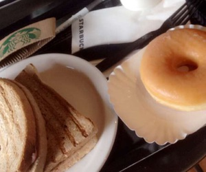 cofee, donut, and eat image