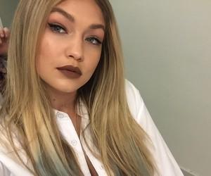 gigi hadid, model, and hair image
