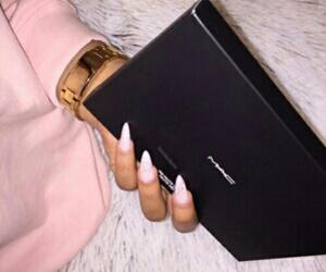 nails, mac, and makeup image
