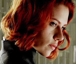 black widow and Scarlett Johansson image