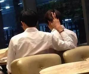 exo, chanbaek, and couple image