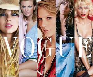 Taylor Swift, vogue, and celebrity image