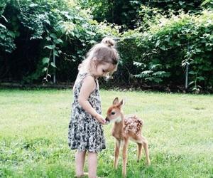 child, animal, and kids image