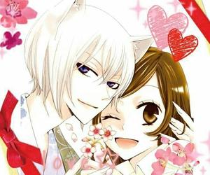 anime, couple, and kamisama kiss image