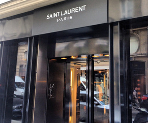 luxury, paris, and saint laurent image