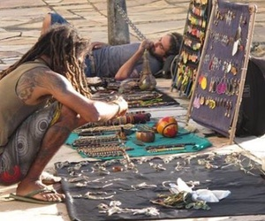 dreads, free spirit, and peace image