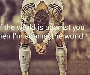 cr7 and love image