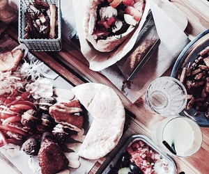 food, red, and theme image