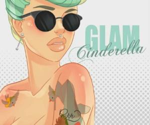 disney, glam, and Cinderella image