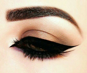 eyeliner, girl, and inspiration image