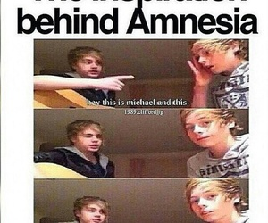 5sos, lukehemmings, and michaelclifford image