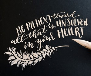 quotes, words, and heart image