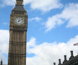Big Ben, traveling, and england image