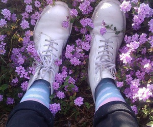 clouds, doc martens, and docs image