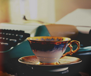 vintage, cup, and photography image