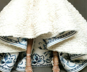 dress, dior, and white image