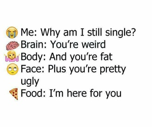food, body, and face image