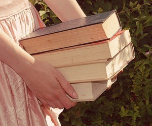 books, girl, and lolita image