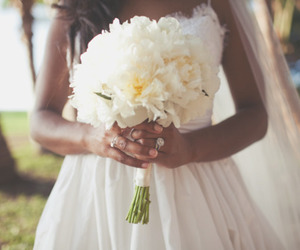 flowers and dress image