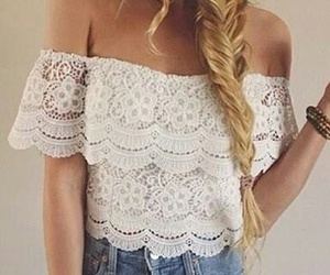 hair, outfit, and white image