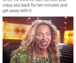 funny, quotes, and beyoncé image