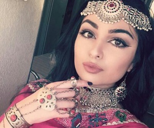 afghan, traditional, and beauty image
