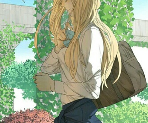girl, tamen de gushi, and manga image