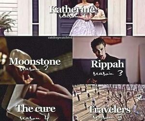 the vampire diaries, katherine, and moonstone image