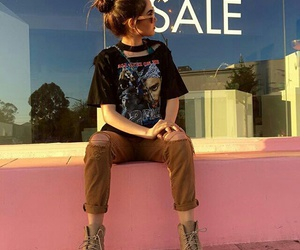 outfit, tumblr, and maggie lindemann image
