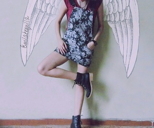 angel, anjo, and wings image