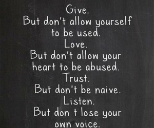 quotes, give, and trust image
