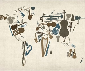 music, world, and instruments image