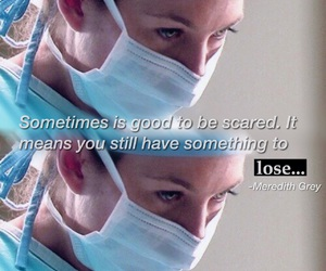 quote, grey, and hospital image