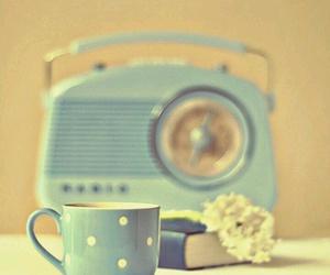 blue, radio, and vintage image
