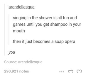 mouth, shampoo, and shower image