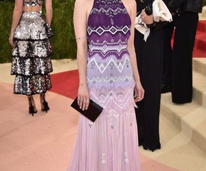 emma roberts, met gala, and dress image