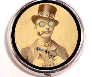 altered art, steampunk, and sweetheartsinner image